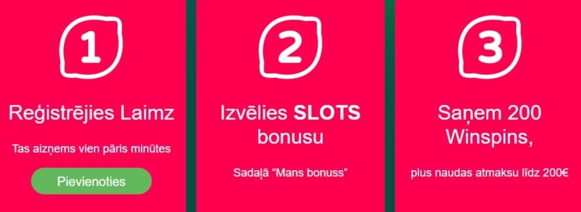 Laimz Kazino Bonusa Piedāvājums