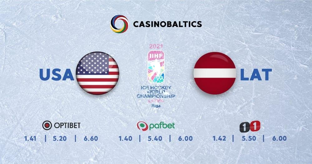 Spēle ASV-Latvija