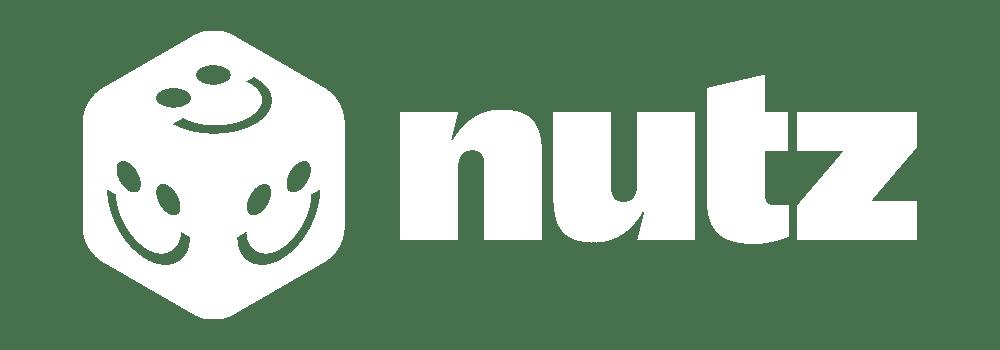 Nutz Casino Logo White