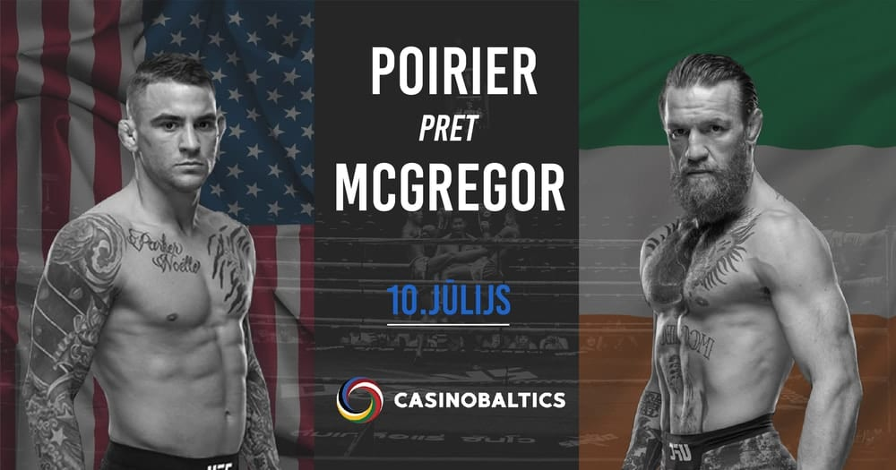 Cīņa - McGregor pret Poirier