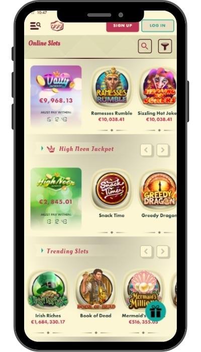 Предложение игр в казино 777