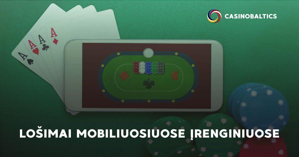 Lošimai mobiliuose įrenginiuose